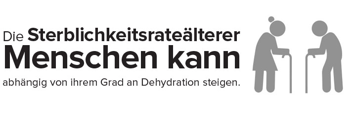 Dehydration im Alter